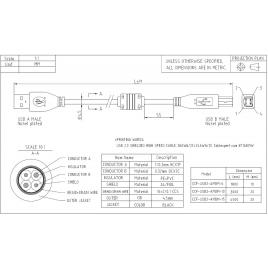 Kabel USB do audio 5m EDNET